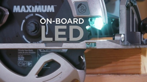 MAXIMUM 15A Circular Saw with E-Brake - image 7 from the video