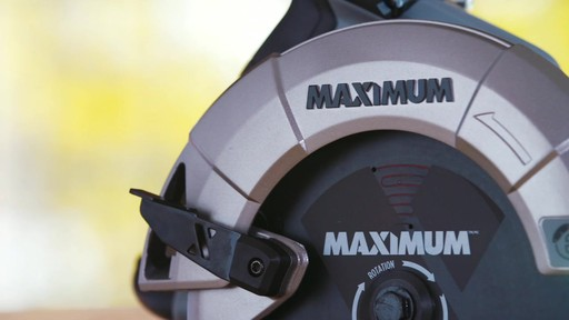 MAXIMUM 15A Circular Saw with E-Brake - image 9 from the video