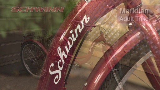 Schwinn Meridian Adult Comfort Trike - image 1 from the video
