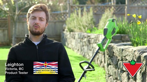 Leighton's Review of the Greenworks 40V Trimmer and Brush Cutter  - image 1 from the video