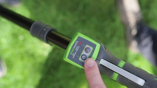 Leighton's Review of the Greenworks 40V Trimmer and Brush Cutter  - image 2 from the video