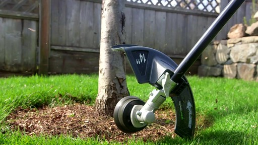 Leighton's Review of the Greenworks 40V Trimmer and Brush Cutter  - image 6 from the video
