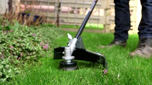 Leighton's Review of the Greenworks 40V Trimmer and Brush Cutter  - image 8 from the video
