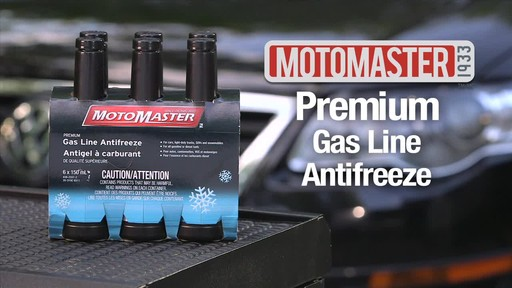 MotoMaster Premium Gas Line Antifreeze - image 1 from the video