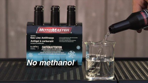 MotoMaster Premium Gas Line Antifreeze - image 6 from the video