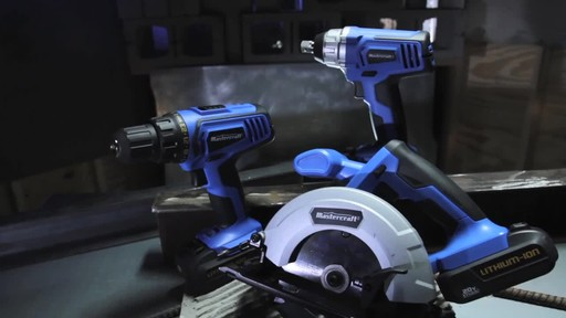 Mastercraft 20v Max Lithium-Ion Cordless Drill and Driver - image 3 from the video