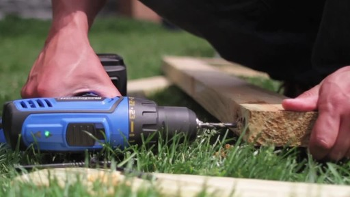 Mastercraft 20v Max Lithium-Ion Cordless Drill and Driver - image 8 from the video