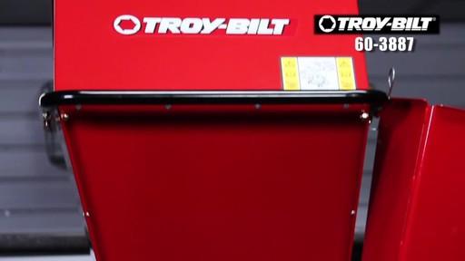 Troy-Bilt Chipper Shredder - image 10 from the video
