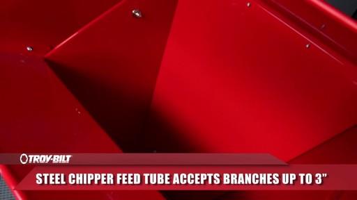 Troy-Bilt Chipper Shredder - image 4 from the video