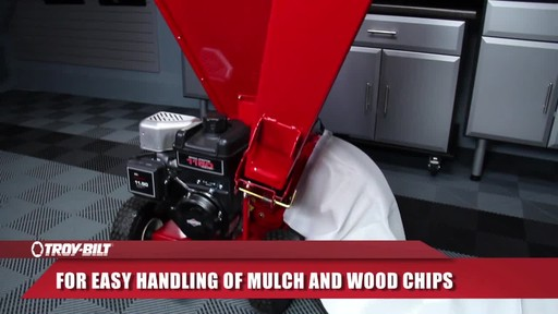 Troy-Bilt Chipper Shredder - image 7 from the video