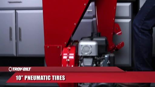 Troy-Bilt Chipper Shredder - image 8 from the video