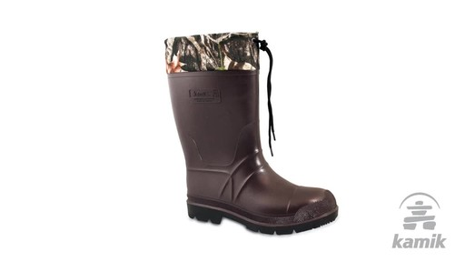 Kamik Bushmaster Hunting Boot - image 3 from the video
