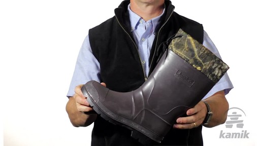 Kamik Bushmaster Hunting Boot - image 4 from the video