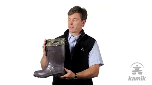 Kamik Bushmaster Hunting Boot - image 5 from the video
