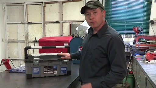 MAXIMUM Heavy-Duty Plastic Toolbox - Don's Testimonial - image 6 from the video