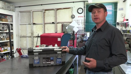 MAXIMUM Heavy-Duty Plastic Toolbox - Don's Testimonial - image 8 from the video