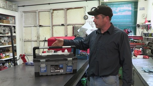 MAXIMUM Heavy-Duty Plastic Toolbox - Don's Testimonial - image 9 from the video