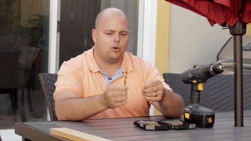 MAXIMUM Titanium Coated Drill Bit Set - Andrew's Testimonial - image 4 from the video