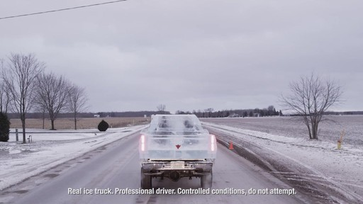 World Record Drive Attempt by the Canadian Tire Ice Truck (Winter 2013) - image 4 from the video