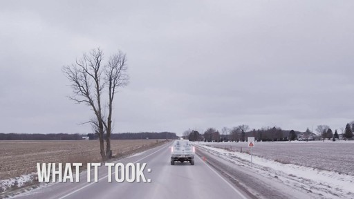 World Record Drive Attempt by the Canadian Tire Ice Truck (Winter 2013) - image 5 from the video