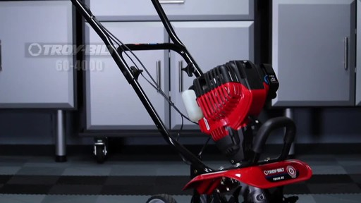 Troy-Bilt Mini Cultivator - image 10 from the video