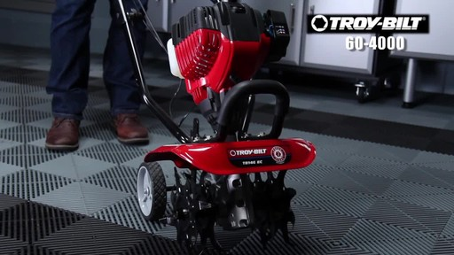 Troy-Bilt Mini Cultivator - image 2 from the video