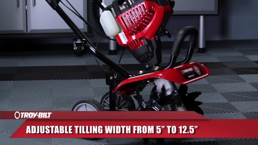 Troy-Bilt Mini Cultivator - image 5 from the video