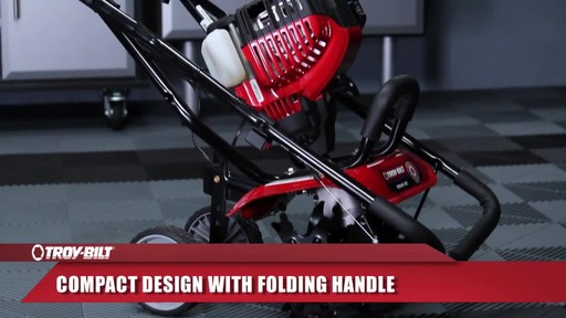 Troy-Bilt Mini Cultivator - image 7 from the video