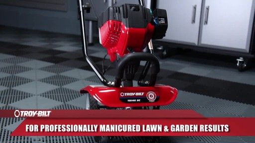 Troy-Bilt Mini Cultivator - image 9 from the video