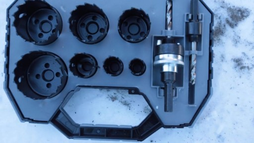 MAXIMUM Plumber's Carbide Tip Hole Saw Set - Jim's Testimonial - image 2 from the video