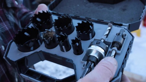 MAXIMUM Plumber's Carbide Tip Hole Saw Set - Jim's Testimonial - image 3 from the video