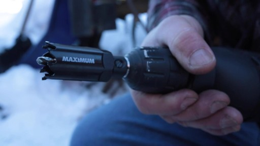 MAXIMUM Plumber's Carbide Tip Hole Saw Set - Jim's Testimonial - image 5 from the video