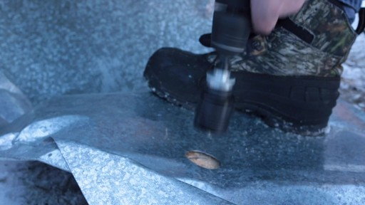 MAXIMUM Plumber's Carbide Tip Hole Saw Set - Jim's Testimonial - image 7 from the video