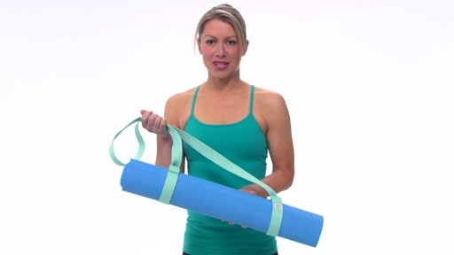 Gaiam Easy Cinch Yoga Mat Sling - image 1 from the video