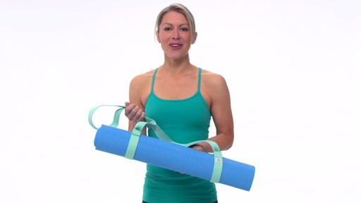 Gaiam Easy Cinch Yoga Mat Sling - image 10 from the video