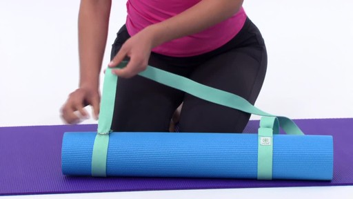 Gaiam Easy Cinch Yoga Mat Sling - image 6 from the video