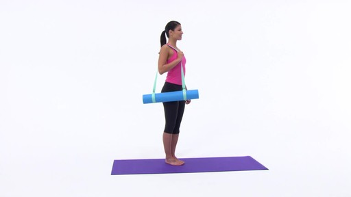 Gaiam Easy Cinch Yoga Mat Sling - image 7 from the video