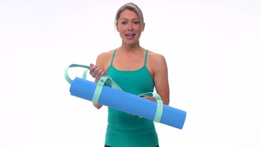 Gaiam Easy Cinch Yoga Mat Sling - image 9 from the video