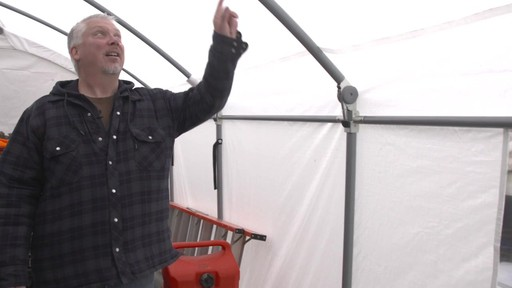ShelterLogic Accelaframe™ HD Shelter - Richard's Testimonial - image 2 from the video