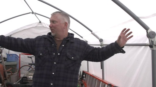 ShelterLogic Accelaframe™ HD Shelter - Richard's Testimonial - image 4 from the video