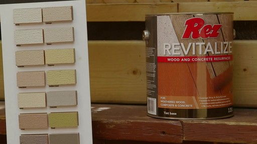 Rez Revitalize Wood & Concrete Resurfacer - image 9 from the video