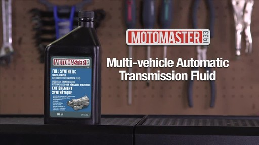 MotoMaster Multi-Vehicle Automatic Transmission Fluid - image 1 from the video