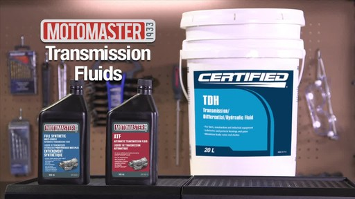 MotoMaster Multi-Vehicle Automatic Transmission Fluid - image 10 from the video