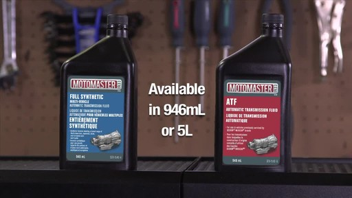 MotoMaster Multi-Vehicle Automatic Transmission Fluid - image 7 from the video