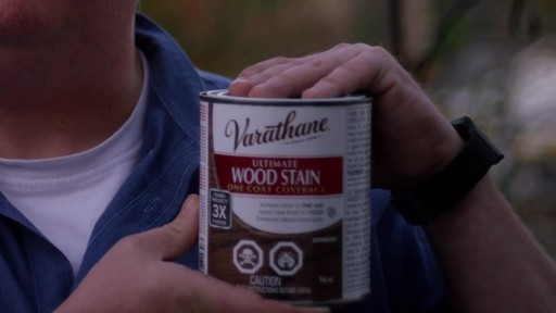 Varathane Ultimate Wood Stain - Chris' Testimonial - image 1 from the video