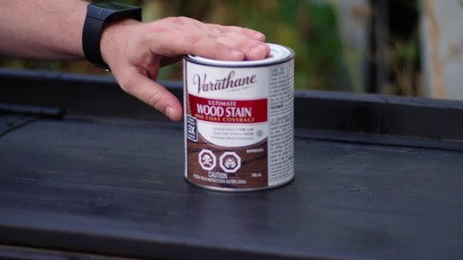 Varathane Ultimate Wood Stain - Chris' Testimonial - image 5 from the video