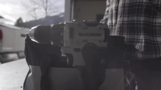 MAXIMUM 20V Brushless Drill Driver- Brandon's Testimonial - image 1 from the video