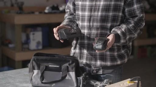 MAXIMUM 20V Brushless Drill Driver- Brandon's Testimonial - image 2 from the video