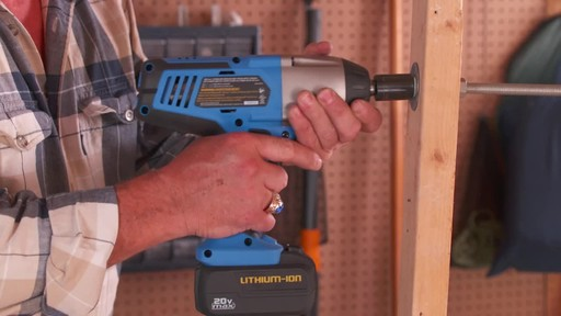 Mastercraft 20V Max High Torque Impact Wrench - image 1 from the video