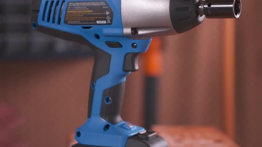 Mastercraft 20V Max High Torque Impact Wrench - image 5 from the video